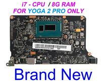 For Lenovo Yoga 2 Pro 20266 w i7-4510U 2.0GHZ CPU 8G VIUU3 NM-A074  Motherboard