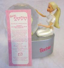 Mattel Barbie Celebrating The New Millennium Musical Snow Globe