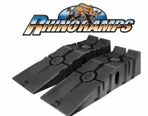 RHINO RAMPS HEAVY DUTY 5 TON GVW LOW CLEARANCE VEHICLE CAR VAN RAMPS (PAIR)
