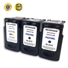 3 PK PG210XL CL211XL Ink Cartridge for Canon PIXMA MP240 MP250 MP270 MP280