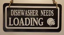 DISHWASHER - double sided blackboard sign