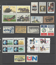U.S. 1970 Commemorative Year Set 24 MNH Stamps