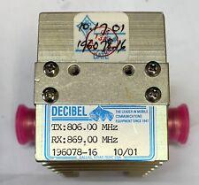 Db Products Varilator Variable Attenuator 196078 16 800mhz Acv2710j1mo New