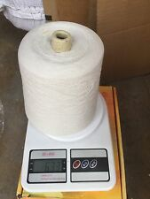 """blend with 90% extrafine merino & 10% cashmere yarn cone color in ice """"sale"""" #B"""