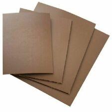 Lastra Linoleum marrone con rete garzata di supporto e spessore di 3,2 mm.