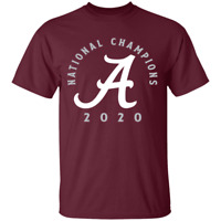 Alabama Crimson Tide 2020 National Champions Ladder Maroon T-Shirt S-4XL