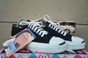 Converse Jack Purcell Vintage Rare Canvas Deadstock OG MADE IN USA 7 NWB