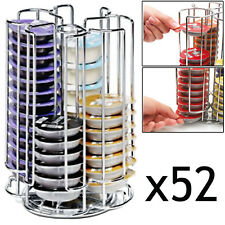 52 T Disc Pod Holder Capsule Refil Tower Rack for BOSCH TASSIMO Coffee Machine