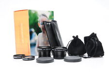 Lensbaby Accessory Kit w/+4, +10 Macro, 0.6X Wide Angle, 1.6X Telephoto #779