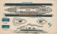 United States Marabout paper model cut out kit Papiermodell découpage recortable