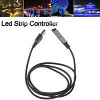 Connector For RGB 3528 5050 Led Light DC 5V 3 Keys  USB  RGB Strip Controller