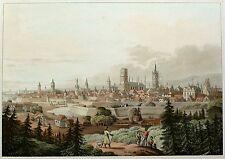 Danzig | Gdansk-vista general-Robert Bowyer-aquatinta 1814