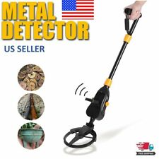 Shovel Headphone Metal Detector Gold Digger Hunter Waterproof Deep Sensitive Us