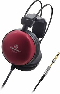AUDIO TECHNICA Headphones ATH-A1000Z Wired Dynamic Sealed Art Monitor Red NEW