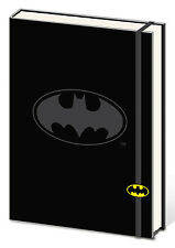 BATMAN-SHIELD PREMIUM JOURNAL NOTEBOOK DARK KNIGHT GOTHAM SUPERHERO SUPPLY USA!!