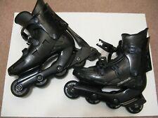 RollerBlade BravoBlade Gl Mens Inline Skates Black Size 8 Us. 70mm wheels. Italy