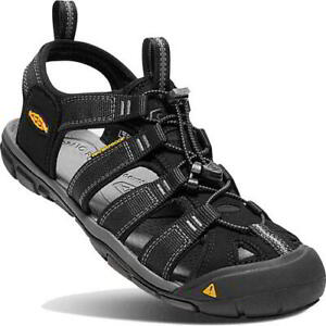 Keen Clearwater CNX Mens Black Adjustable Walking Water Sandals Shoes Size 7-14