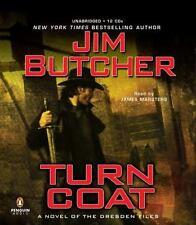 Turn Coat by Jim Butcher/Harry Dresden (2009, CD, Unabridged)