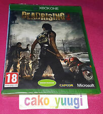 DEAD RISING 3 XBOX ONE NEUF SOUS BLISTER VERSION 100%  FRANCAISE