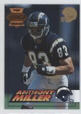 1994 Collector's Edge Pop Warner Bronze 22K Gold Helmet Anthony Miller #174