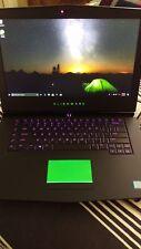 Alienware 15 i7 7700HQ 16GB 180GB SSD 1TB HDD GTX 1070 8G Gaming Laptop Warranty