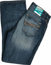 Cinch  Men's Relaxed Fit  Medium Blue Wash  Mid Rise  Boot Cut Jean   MB76837001