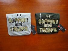 Under Armour Men's Freedom Support The Troops Short Sleeve Tactical Tee NWT