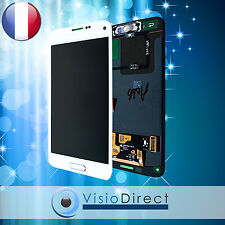 Ecran complet pour Samsung Galaxy S5 Mini SM-G800F blanc vitre tactile+ecran LCD