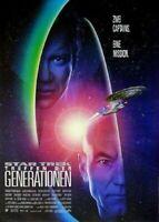 STAR TREK 7: TREFFEN DER GENERATIONEN - Orig.Kino-Plakat A1- Shatner,Stewart rol