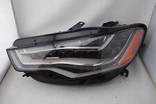 2012-2015 Audi A6 S6 Full LED Left LH Driver Side Headlight OEM 12 13 14 15