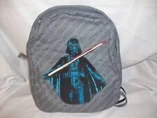 NWT Pottery Barn kids Star Wars Backpack Darth Vador Cape