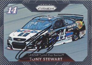 AUTOGRAPHED Tony Stewart 2016 Panini Prizm (#14 Mobill 1) Signed NASCAR Card COA