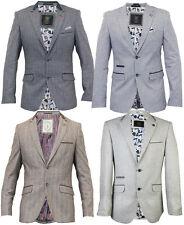 Mens Blazer Formal Jacket Adults Smart Suit Designer Lined Tweed 38''- 50''