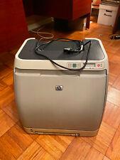 Used HP Color LaserJet 2600n Workgroup Laser Printer Hewlett Packard Q6455A