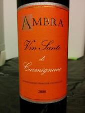 6 bottles Vinsanto di Carmignano doc 2010  0,375 lt fattoria ambra (da 09.18)