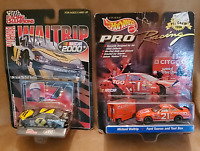 Lot of 2 Factory Sealed NASCAR Michael Waltrip Diecast Replica Cars 1:64 Scale