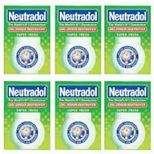 Neutradol GEL FRESH AIR FRESHNER 140 g x 6 Pack