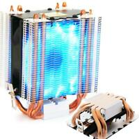 4pcs Aluminum LED CPU Cooler Fan Heatsink For Intel LAG1156/1155/1150/1151/775