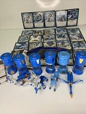 Monsuno Toys 5 Figures And Cores with some  Cards