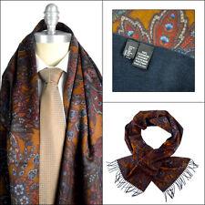 New ITALO FERRETTI Paisley Cashmere Tassel Fashion Scarf Shawl Wrap NIB $495