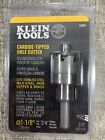 KLEIN TOOLS 31876 CARBIDE-TIPPED HOLE CUTTER 1-1/8' FOR 3/4' FITTINGS