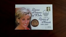 "Numisbrief - ""Diana-Princess of Wales - Queen of Hearts - 1961-1997"" - Medaille"