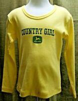 Toddler John Deere size 18 month long sleeve Green Cotton shirt Farm Legend NWT