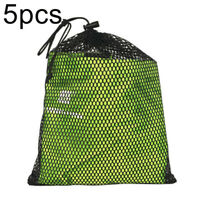 5pcs Ultralight Drawstring Mesh Stuff Sack Storage Bag For Travelling Camping