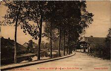 CPA   Méry sur-Seine (Aube) - Les Bords du Canal   (350812)