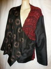Hand-wash Only Geometric Plus Size Coats, Jackets & Vests for Women