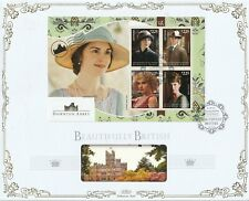 GUYANA 19 MARCH 2014 DOWNTON ABBEY M/SHEET O/S VLE BENHAM FIRST DAY COVER
