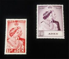 nystamps British Aden Stamp # 30,31 Mint Og H $38 J15y1852