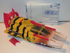 1988 GI JOE TIGER FORCE TIGER SHARK 100% COMPLETE - HASBRO