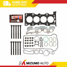 Head Gasket Bolts Set Fit 03-11 Mazda 3 6 5 Ford Focus DURATEC 2.0 2.3 DOHC MZR